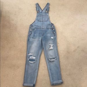 American Eagle Tomgirl Overalls XS